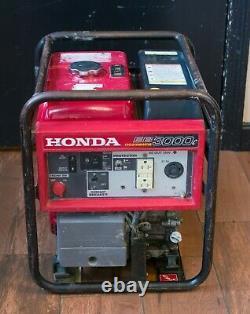 (ma5) Honda Équipement D'alimentation Eb3000c 3000w Générateur Industriel De Gaz Portable